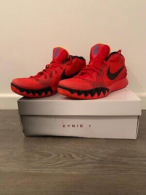 Kyrie 1 Deceptive Red Basketball Shoe/Sneaker UK 9