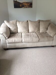 Couch and chair fold out bed