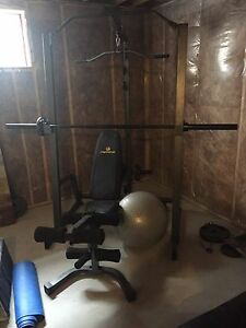 Home workout station