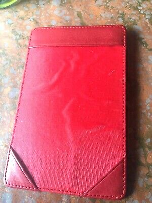 Leather Pocket Note Memo Jotter Writing Pad Italian Leather By Sacoche Index
