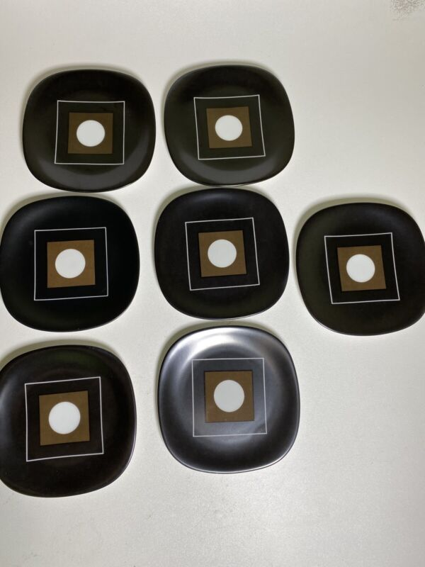 Block Langenthal Transition Circle in the Square Appetizer Bread Dessert Plates
