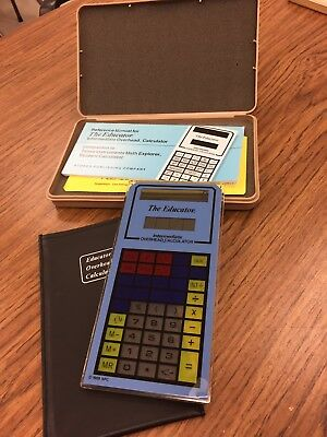 The Educator Intermediate Calculator Overhead Projector With Case Vintage