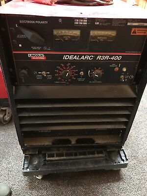 Lincoln Idealarc R3r-400 Welder Preowned