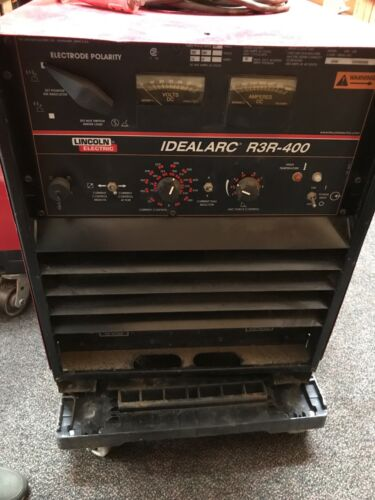 *LINCOLN  IDEALARC R3R-400 WELDER (preowned)