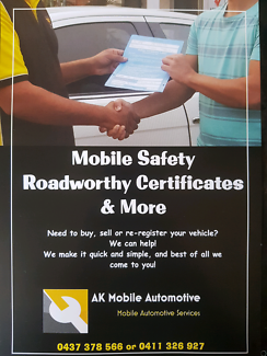 Affordable & Simple Mobile Roadworthy Certificates Logan Central Logan Area Preview
