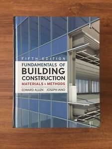 Architecture Textbook - Fundamentals of Building Construction