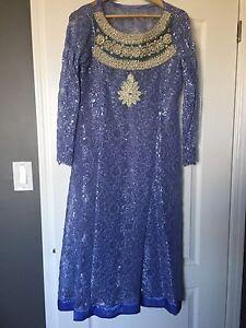 Indian/Pakistani Party Dress - size large