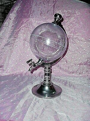 "Rare, ""DECANTER, GLOBE DESIGN WINE / JUICE / ALCOHOL / WATER DISPENSER"", Plastic for sale  Shipping to Nigeria"