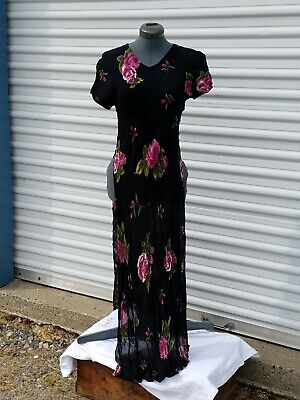 AMERICAN ANGEL Ladies Long Evening Party Cocktail Dress w/ open sides  - sz 14 ()