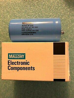 Mallory Capacitor | Lincoln Equipment Liquidation