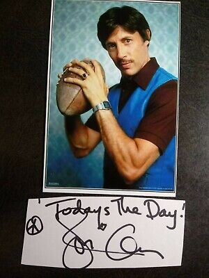 JON GRIES As UNCLE RICO Hand Signed CUT With 4X6 Photo - NAPOLEON DYNAMITE