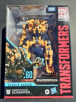 Transformers Studio Series 60 Voyager Class Scrapper IN STOCK in U.S.A last one!