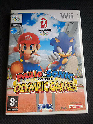 Mario & Sonic at the Olympic Games Nintendo Wii (also works on Wii U) for sale  Shipping to Nigeria