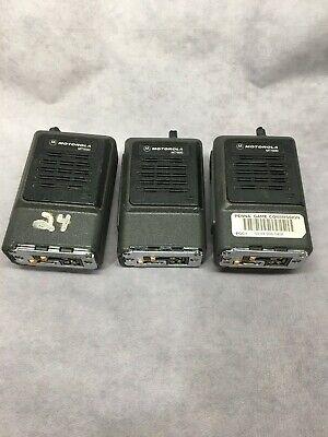 Lot Of 3 Motorola Mt1000 Portable Handie Talkie Fm Radio Without Batteries 15