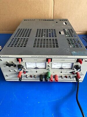 Kepco Bop 20-10m Bipolar Operational Power Supply W Manual