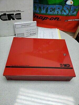 Dmp Fire Alarm Control Panel W Keys And Pcb Control Board  Xr100 Xr500