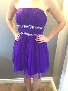 Formal dress - purple size 9 - worn once