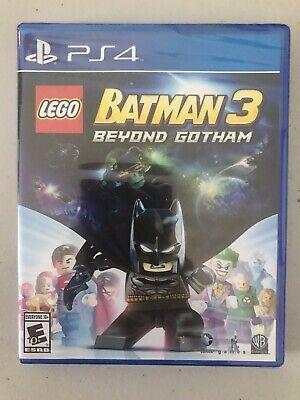 NEW SEALED Lego Batman 3 Beyond Gotham PS4 Game