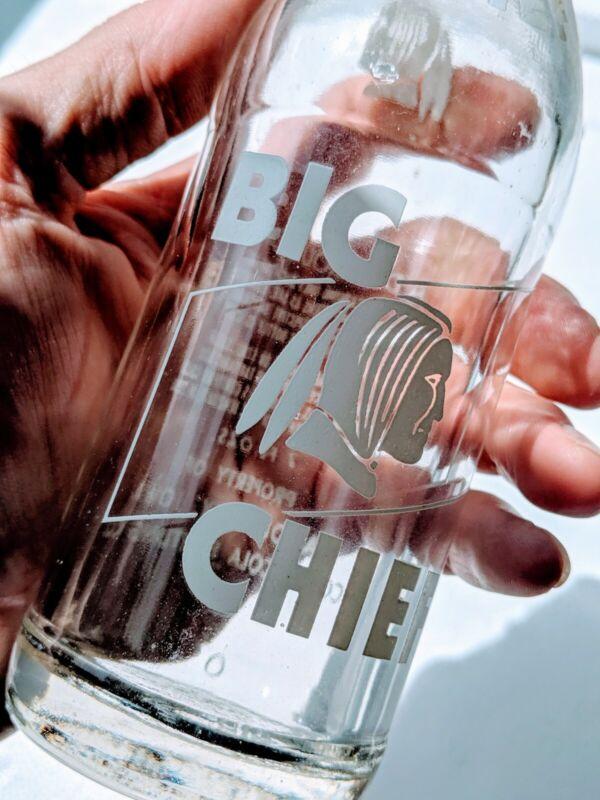 Vintage Big Chief Soda Bottle