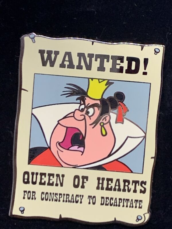 Disney Shopping - Wanted! Series - Queen of Hearts LE 250 Pin 73382