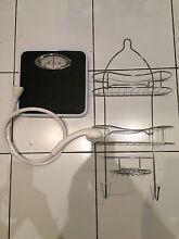 Bathroom Scales, Shower Caddy and Tap Shower Attachment Kensington Melbourne City Preview