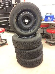 Set of 4 Winter Tires/Steel Rims