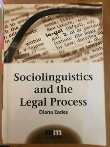 Sociolinguistics and the Legal Process Textbook Tamworth Tamworth City Preview