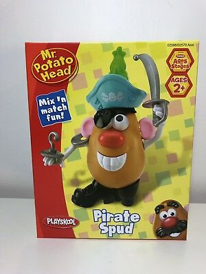 Pirate Mr Potato Head (Mr. Potato Head Playskool; Pirate Spud! New in Box! Ships)
