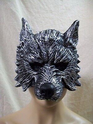 Big Bad Wolf Costume Mask Dog Jackal Red Riding Hood Little Piggy Nursery Rhyme