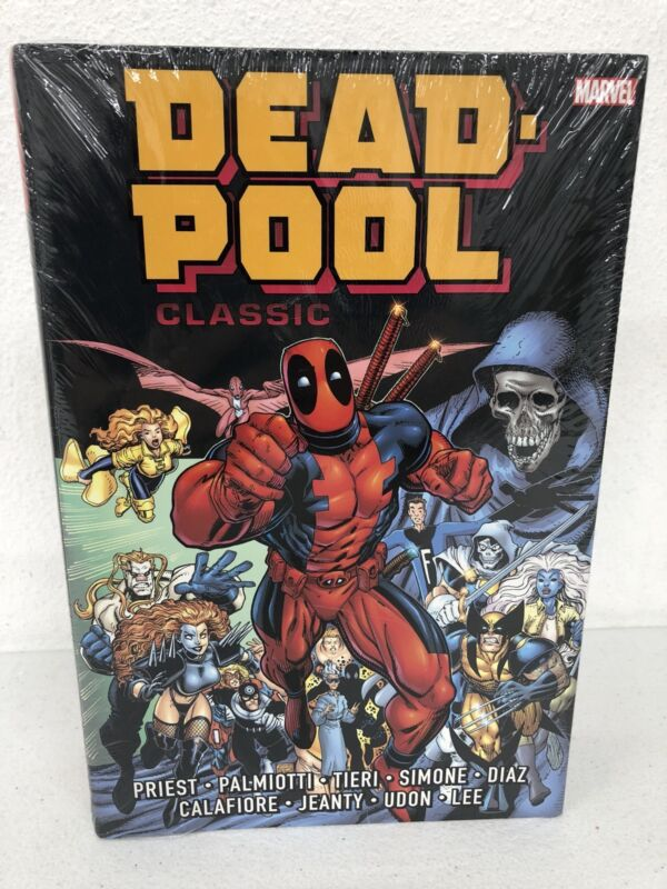 Deadpool Classic V1 Omnibus Collects #34-69 Marvel HC Hard Cover New Sealed $125