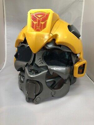 Boys Bumble Bee Costume (Halloween Costume Transformers Bumble Bee Talking Helmet Mask 2008 Hasbro)