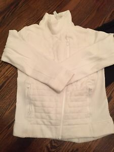 Lululemon Zip Up Sweaters Size 4 Black White Size 4