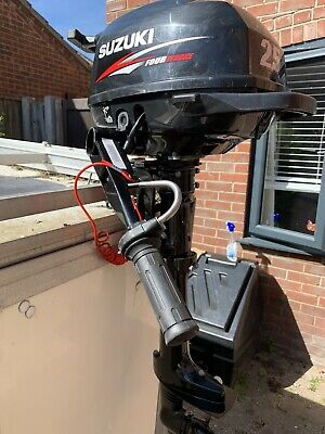 SHORT SHAFT SUZUKI DF 2.5 HP F 4 Stroke Outboard Boat Motor Engine Boat 2.5hp