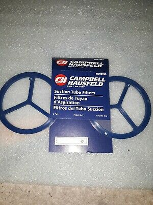 Campbell Hausfeld Suction Tube Filters 2pk Mp2153