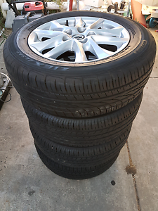 Mazda 3 tyre and wheel set St Albans Brimbank Area Preview