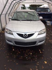 Mazda 3 2008 doit partir, Manque de place!!!