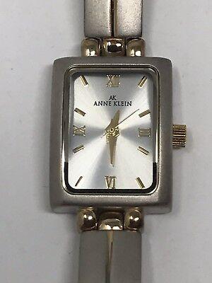 NWT Anne Klein Women's Stainless Gold Silver Two Tone Quartz Watch