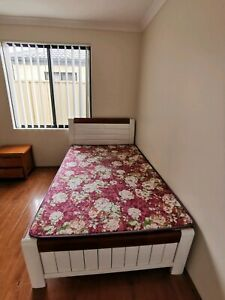 King Single bed with free mattress