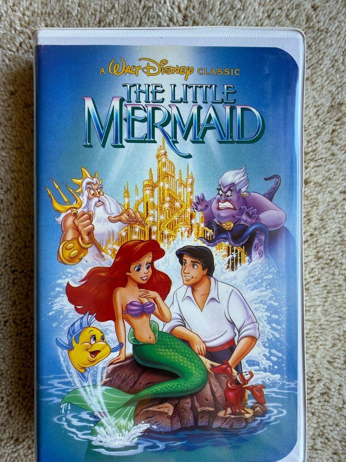 The Little Mermaid VHS, 1990 Black Diamond Edition - Very Good Condition - $24.95