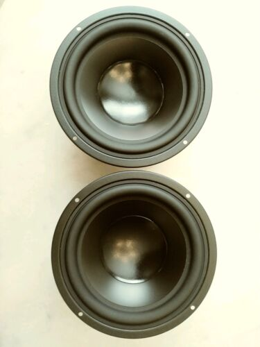 "Pair NHT in wall 6.5"" woofers, excellent condition Peerless 830589 drivers 4 ohm"