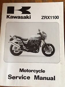 1997 Kawasaki ZR ZRX1100 Service Manual