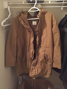 Lightly lined winter jacket.