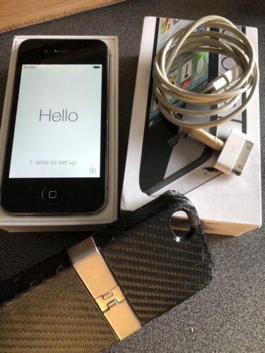 Apple iPhone 4s - 16GB - Schwarz