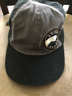 Goose Island Beer Company hat cap adjustable snap back contrast stitch charcoal Contrast Stitch Adjustable Cap