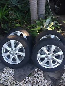 2009 Mazda 3, 16 inch, Wheels and tyres Mooloolaba Maroochydore Area Preview