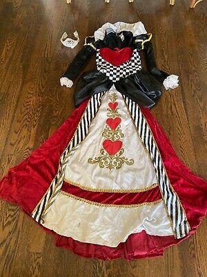 Alice In Wonderland Character Costume (Deluxe Queen Of Hearts Costume In Character Small S Alice in Wonderland)