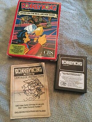 Donkey Kong Atari 2600 Complete