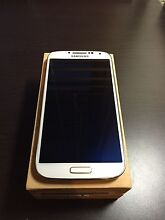 (Unlocked) Samsung Galaxy S4 Pearl White Griffith South Canberra Preview