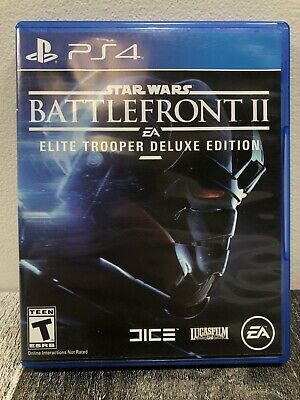 Star Wars Battlefront 2 (PlayStation 4, PS4) Elite Trooper Deluxe Edition