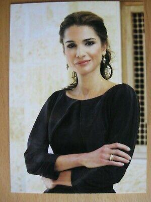 Karte Königin Queen Rania von Jordanien - ADEL